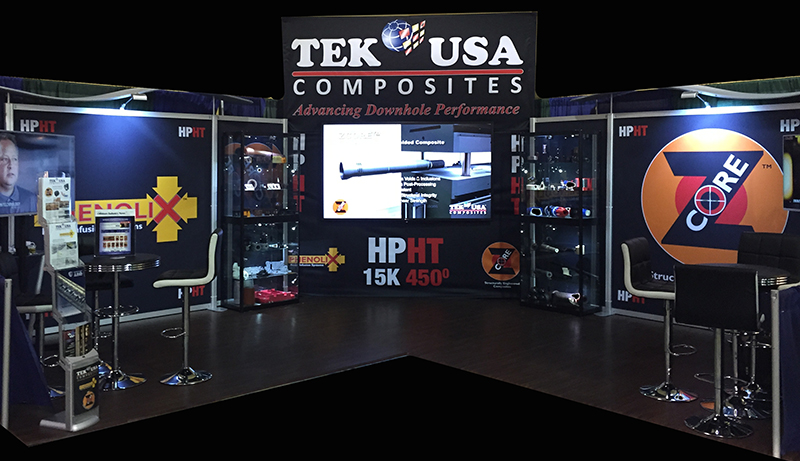 2014 Offshore Technology Conference TEK USA Booth