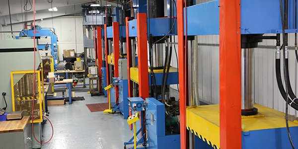 TEK Molding Press facility