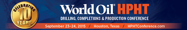 World Oil HPHT Drilling Completions and Production Conference